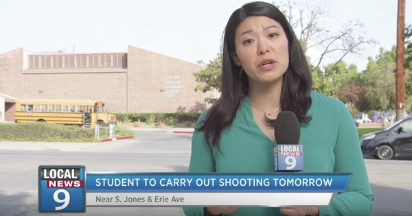Watch: This chilling 'news broadcast' from a school mass shooting is set one day before it happened