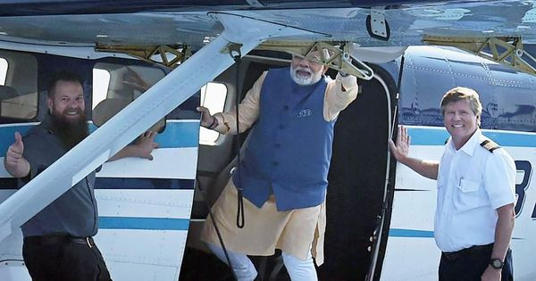 How Narendra Modi outmatched James Bond with his seaplane stunt
