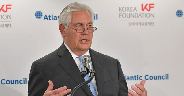 US is ready for unconditional talks with North Korea, says Secretary of State Rex Tillerson