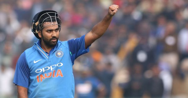Rohit Sharma's third ODI double ton helps India post 392/4 against Sri Lanka in Mohali