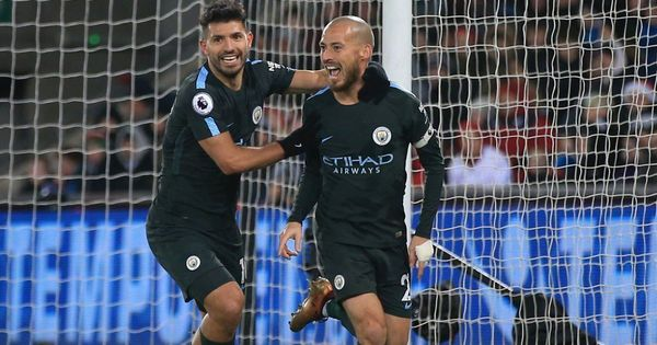 David Silva shines with brace as City register record 15th successive Premier League win