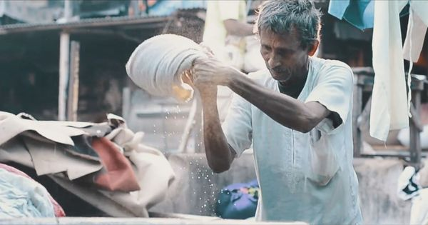 Watch: Mumbai's 'Dhobi Ghat', bustling and chaotic by day, turns hypnotic in this film
