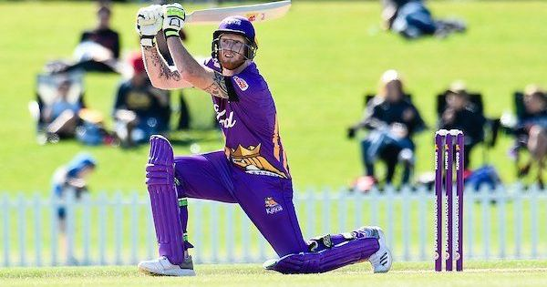 Ashes calling? Ben Stokes smashes 93 from 47 balls in New Zealand's domestic Twenty20
