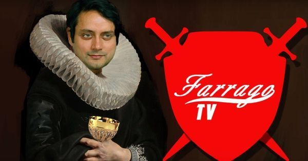 Shashi Tharoor's rodomontade provides fresh fodder for Farrago TV (and other parodies)