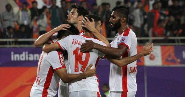 ISL: Miku, Chhetri shine as Bengaluru come from a goal down to defeat 10-man Pune City 3-1
