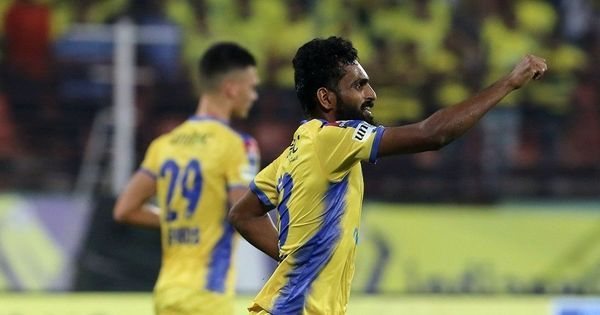 ISL: CK Vineeth scores as Kerala Blasters down 10-man NorthEast United in ill-tempered contest
