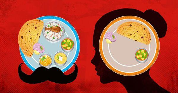 जाने क्यों हमारे और खाने के बीच में संस्कार से लेकर बाजार तक, न जाने क्या-क्या आ जाता है!