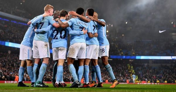 Rampant Manchester City crush Tottenham 4-1 to make it 16 Premier League wins in a row