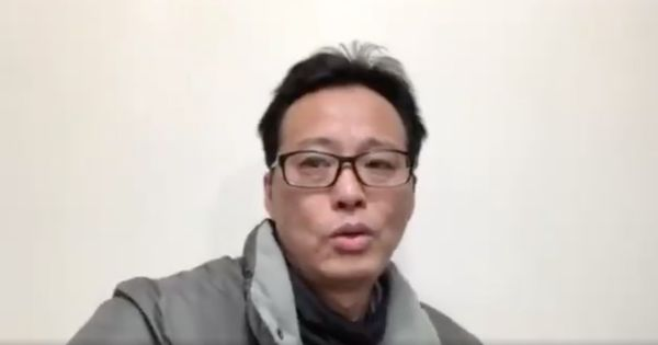 Chinese artist Hua Yong posted these videos minutes before being picked up by the authorities