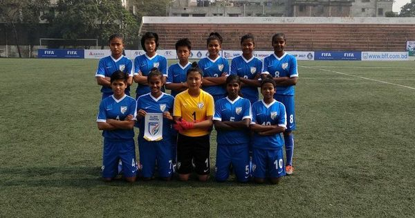 SAFF under-15: India women thrash Bhutan 3-0 in opener
