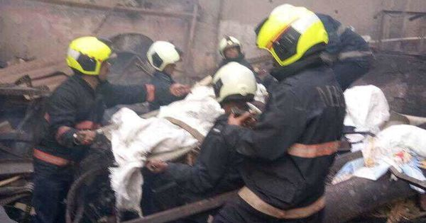 12 workers dead after fire breaks out in Mumbai shop