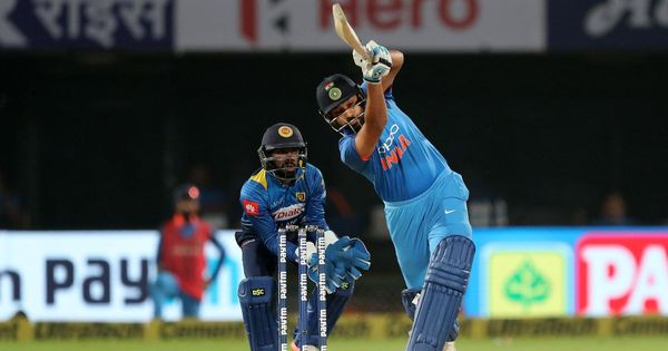 Rohit Sharma back in top five of ICC ODI batting rankings after successful Sri Lanka series