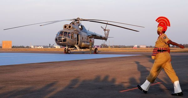 Indian Air Force phases out Soviet-era Mi-8 helicopters