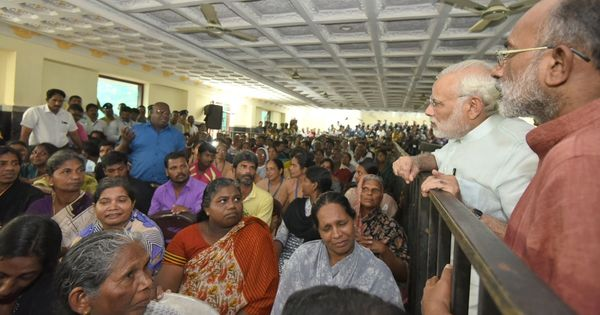 Narendra Modi meets families affected by Cyclone Ockhi, announces Rs 325 crore in government aid