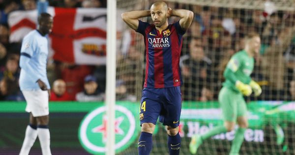 Javier Mascherano joins Chinese club Hebei China Fortune from Barcelona