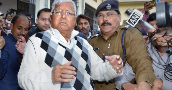 Fodder scam: Special CBI court convicts Lalu Prasad Yadav in Chaibasa case