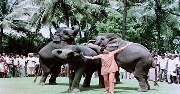 The connection between 'Haathi Mere Saathi' and a house for superstar Rajesh Khanna