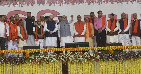 क्या 'जातिवाद के ज़हर' को कोसने वाली भाजपा ने गुजरात में वैसा ही मंत्रिमंडल नहीं बनाया है?
