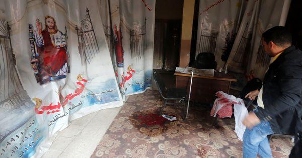 Egypt: Nine killed in attack on church near Cairo, gunman shot dead
