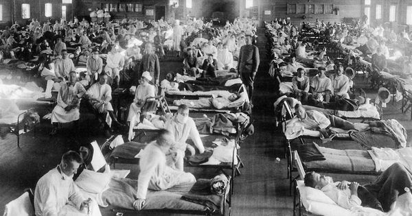 A study maps the spread (and decline) of the 1918 Spanish flu in India