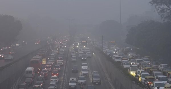 Mumbai's air quality slips to 'very unhealthy' on New Year's Day