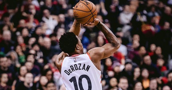 293dc8427248 DeMar DeRozan scored a team record 52 points as the Toronto Raptors won  their 12th straight home game with a 131-127 overtime victory over the  Milwaukee ...