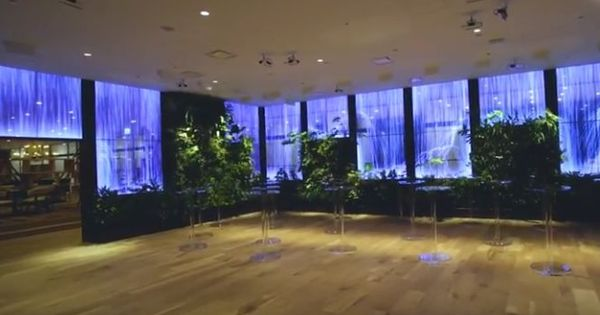 Watch: Interactive building lobbies are here to make you wonder where on earth you are