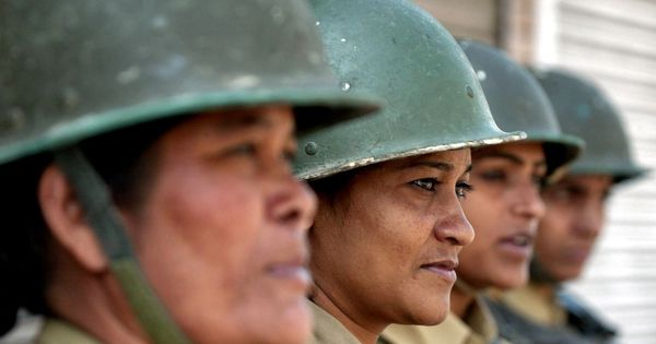 Why 1,000 female paramilitary soldiers have no last name, and why that matters to India