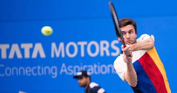 Tata Open: Fighting back from a set down, Gilles Simon stuns top seed Marin Cilic
