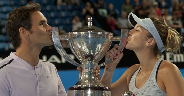 'She helped me become the player I am today': Federer credits Hingis after Hopman Cup triumph