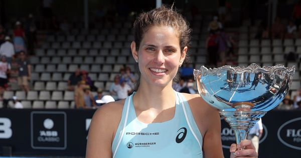 Auckland Classic: Goerges aces out Wozniacki in final to win her 14th match on the trot
