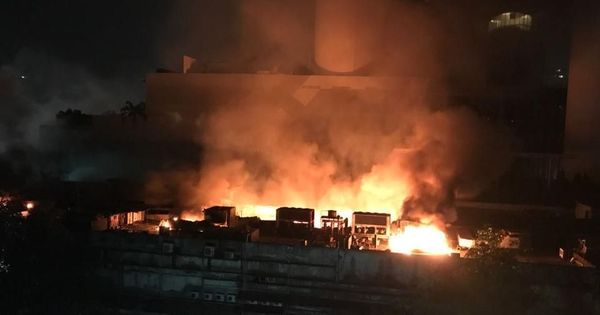 Cinevista fire: One body recovered from Mumbai film studio