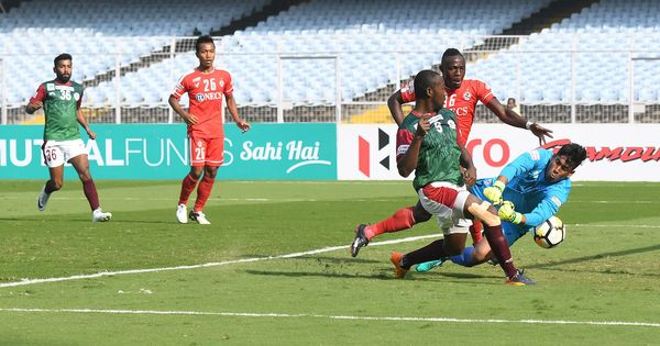 I-League: Mohun Bagan return to winning ways under new coach, defeat defending champs Aizawl 2-0
