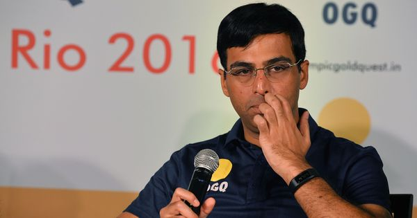 'I was the first Indian Grand Master, now we have 52': Anand hails growth of chess in country