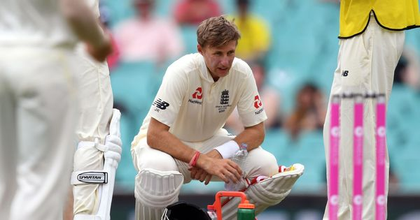 Joe Root ends Ashes series in bed after retiring ill with stomach bug