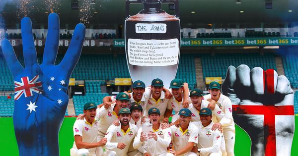 'How inappropriate. How awful': Twitter trashes Cricket Australia's 'tasteless' Ashes podium