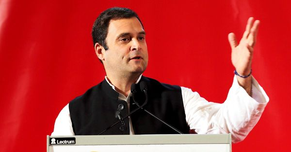 R-Day: Congress says Rahul Gandhi made to sit in sixth row, accuses BJP of discarding convention