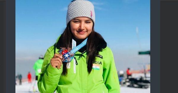 हिमाचल प्रदेश की आंचल ठाकुर ने स्कीइंग में देश को पहला अंतर्राष्ट्रीय पदक दिलाया
