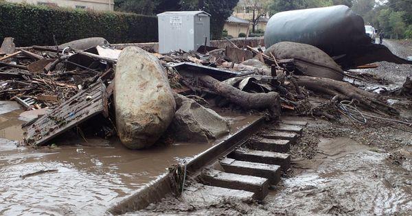 California: 13 killed after heavy rain triggers floods and mudslides in Santa Barbara County
