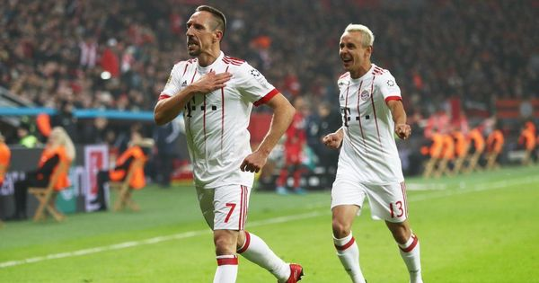 Ribery masterminds Bayern's win over Leverkusen to go 14 points clear in Bundesliga