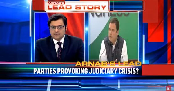 Memo to India's TV anchors: Stop shouting – the judicial battle is not about BJP vs Congress