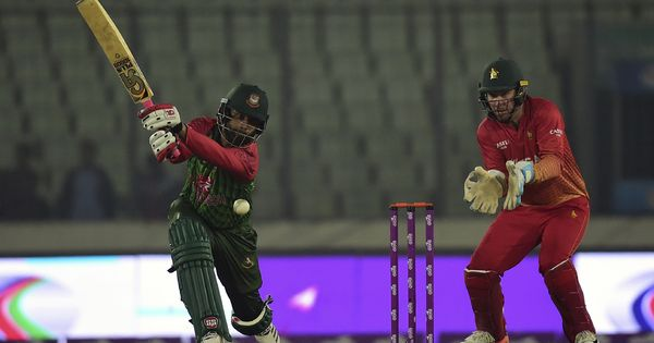 Tamim guides Bangladesh to eight-wicket win over Zimbabwe in tri-nation opener