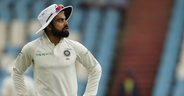 Kohli fined 25% of match fee for throwing ball on ground, complaining about damp outfield