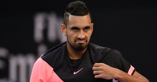 Australian Open: Nick Kyrgios fined for colourful language, Borna Coric for racquet abuse