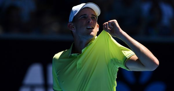 Australian Open men's roundup: Thiem fights back to win in five sets, Querrey knocked out