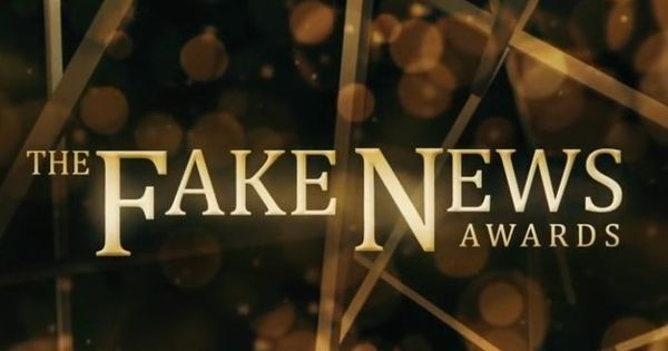 Fakies: As Trump picks the winners of the 'Fake News Awards', Jimmy Fallon spoofs the awards show