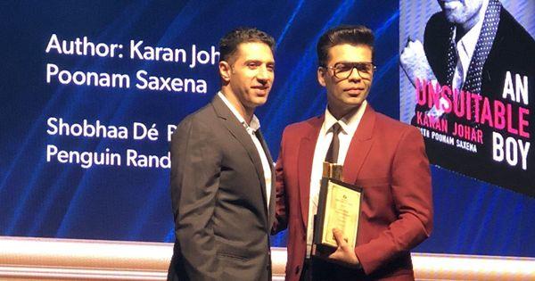 Josy Joseph, Sujit Saraf and Karan Johar among the winners of this year's Crossword Book Awards