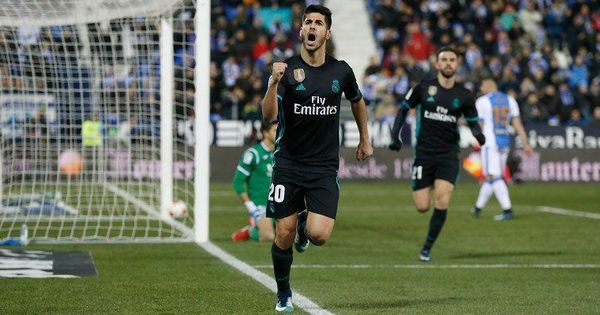Asensio's last-gasp goal powers second string Real Madrid in Spanish Cup quarters