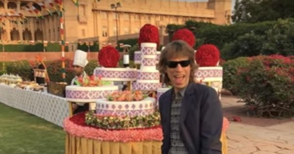 Watch: Mick Jagger took an auto-rickshaw ride in Rajasthan and lived to post the video