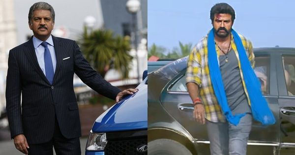 Anand Mahindra jokes about 'Jai Simha' scene with Bolero, Nandamuri Balakrishna fans have none of it